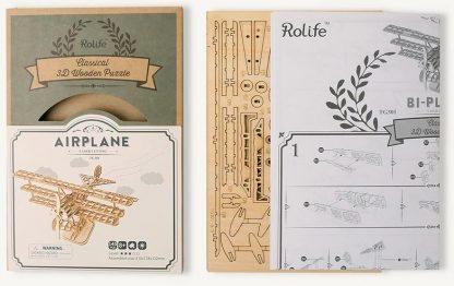 Maquette en bois Avion
