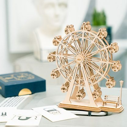 Maquette en bois Grande roue