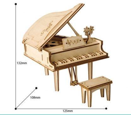 Maquette en bois Piano