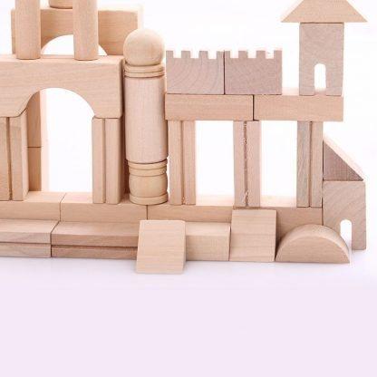 Bloc de construction en bois