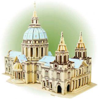 Cathédrale de Saint Paul en bois