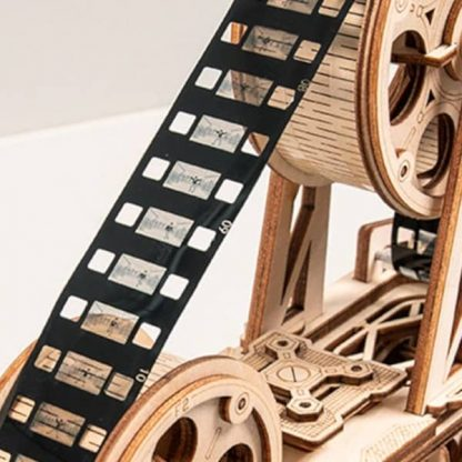 Maquette Projecteur en bois