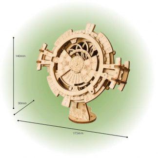 Maquette calendrier perpétuel en bois