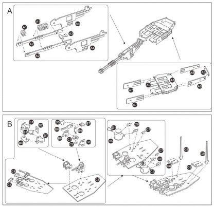 Maquette de Tank en bois