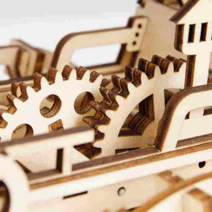 Maquette en bois train