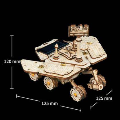 Maquette 3D bois Courage-Rover
