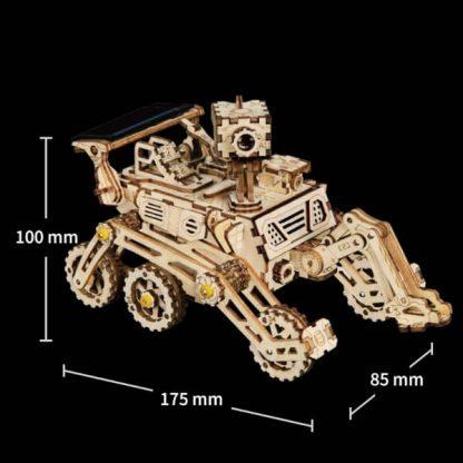 Maquette 3D bois Curiosity Rover