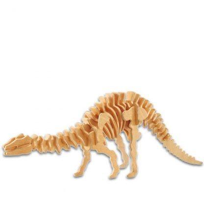 Maquettes dinosaures en bois