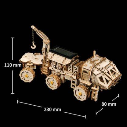 Maquette 3D bois Hermes-rover