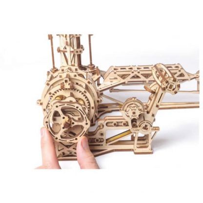 Maquette 3D en bois manège à avions 3