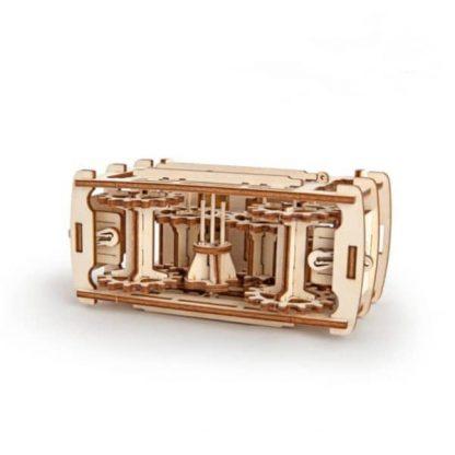 Maquette 3D tramway en bois 2