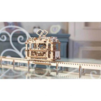 Maquette 3D tramway en bois 4