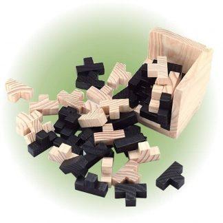 Cube casse-tête en bois AllinWood